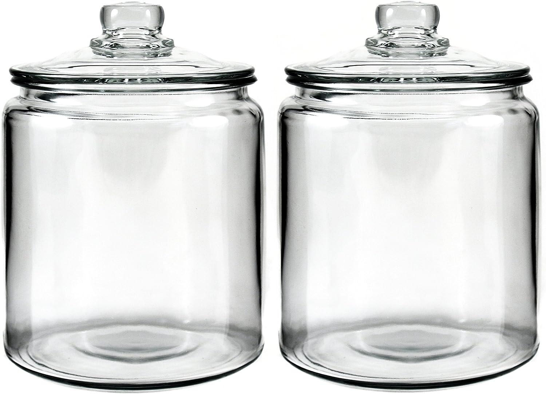 1 gal Anchor Hocking Glass Heritage Jar