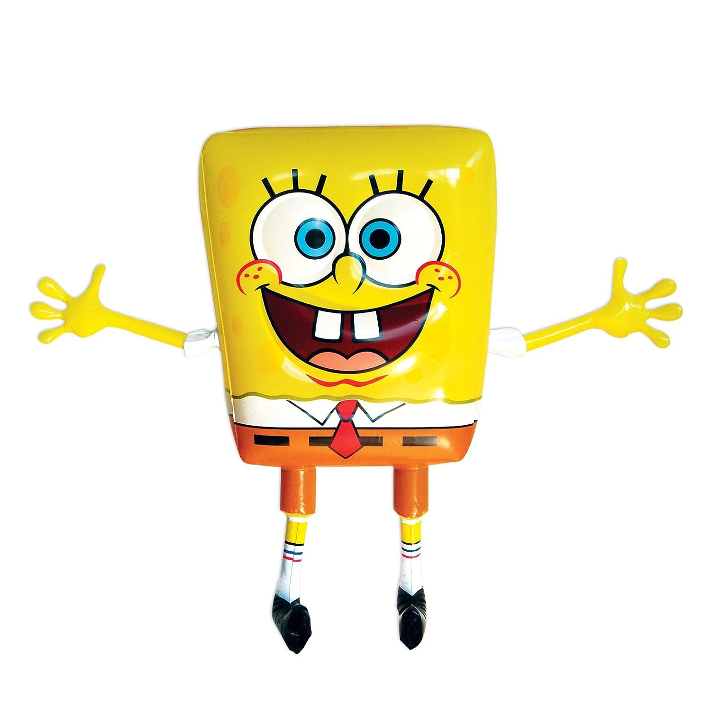 sponge bob inflatable character 60cm amazon co uk toys u0026 games