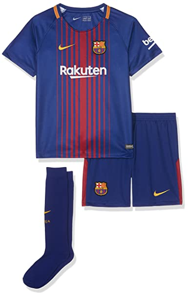 online store 8e38c 1856c Nike Children's 2017/18 Fc Barcelona Home Football Kit