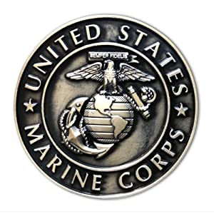 U.S. Marine Corps (USMC) Unique Refrigerator Magnet by Old Dominion LLC