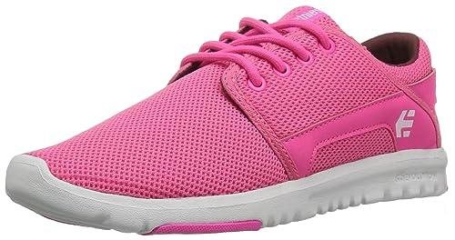 Etnies Scout W'S, Zapatillas de Skate para Mujer, Rosa (Pink/White/Pink), 38 EU (5 UK)