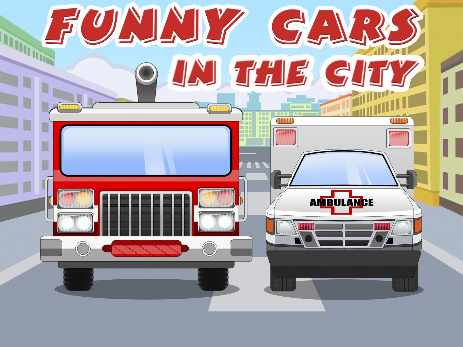Funny Cars in the City on Amazon Prime Video UK