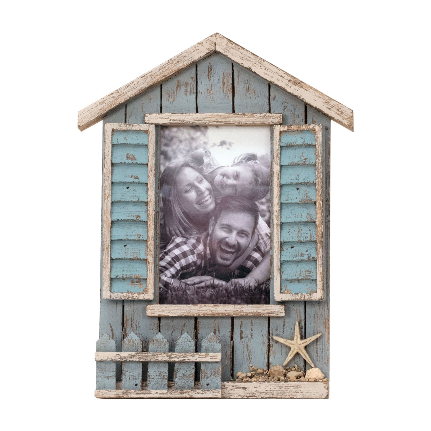 Foreside Home & Garden FFRD06191 4X6 Heartland Window Photo Frame by Foreside Home and Garden