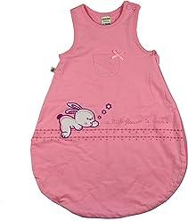 Jacky Baby Mädchen Schlafsack, wattiert, Baby Girl, Alter 6-12 Monate, Größe: 74/80, Farbe: Rosa, 321708
