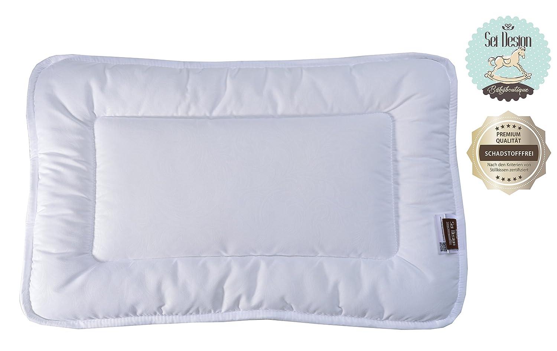 sei Design Almohada de calidad por bebé 40x60 cm extra suave y tierno. Ideal para las personas alérgicas. 582488