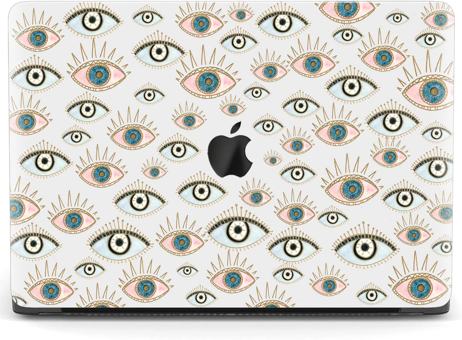 MacBook Pro Case Seamless Abstract Sea Background Sailboats On A Vector MacBook Retina 12 A1534 Plastic Case Keyboard Cover /& Screen Protector /& Key