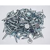 Clavos de Cabeza Ancha Galvanizados 13mm x Bolsa de 110g: Amazon.es: Bricolaje y herramientas
