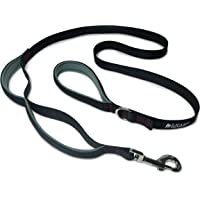 Leashboss 3X - Two Handle Dog Leash with Extra Traffic Handle - Heavy Duty Double Padded Handle Lead for Walking and Training Large Dogs