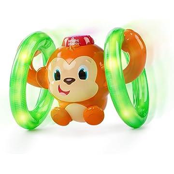 mini Bright Starts Roll and Glow Monkey