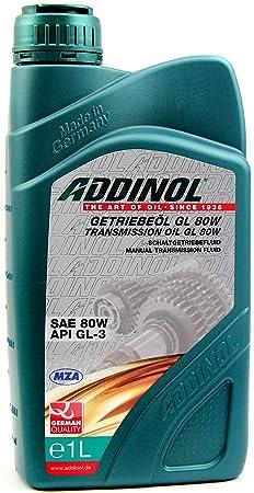 Addinol Getriebeöl Gl80w Mineralisch 1 Ltr 6 95 Elektronik