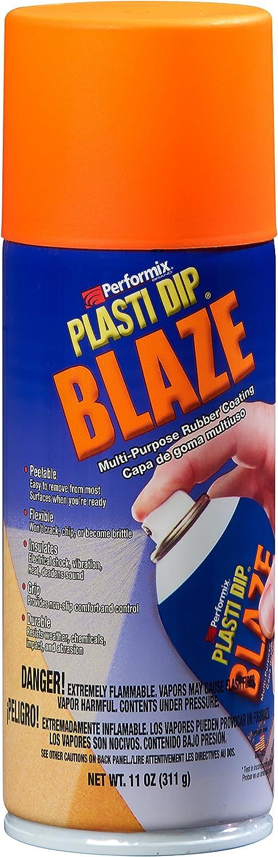 Performix Plasti Dip Sprühdose Sprühfolie Flüssiggummi Spraydose Blaze Orange 400 Ml Original Usa Produkt Auto