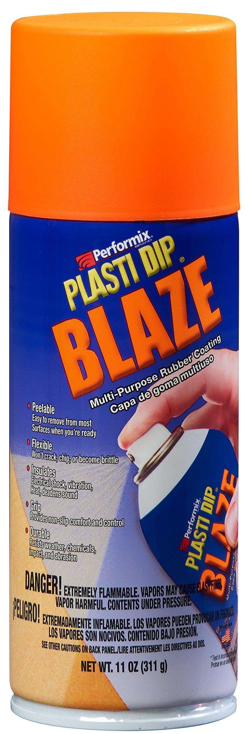 Plasti Dip Performix 11218-6PK Spray Blaze Orange, 11. Fluid_Ounces