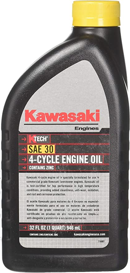 Amazon.com: Kawasaki 12pk genuino 4-cycle aceite de motor ...