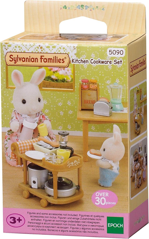 Amazon.es: Sylvanian Families- Animales Set utensilios para cocina (Epoch para Imaginar 5090): Juguetes y juegos