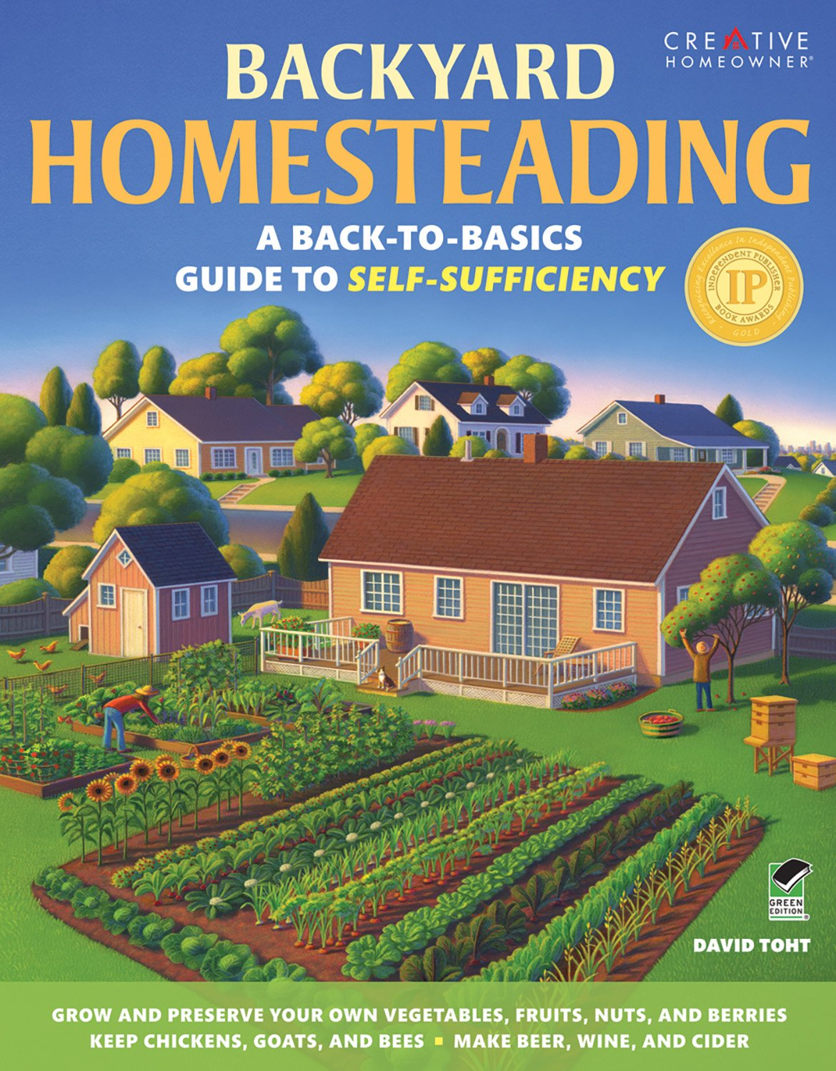 Image result for backyard homesteading by david tohot