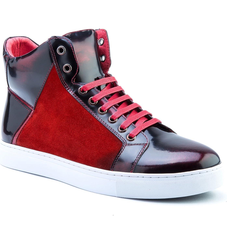 [バッジェリーミシュカ] メンズ スニーカー Badgley Mischka Douglas High Top Sneaker [並行輸入品] B07DTPD2PG
