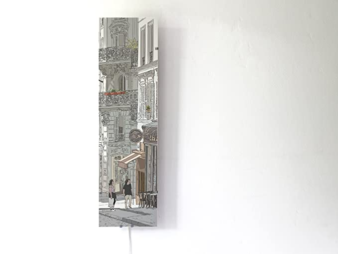 Plafoniere Da Parete Ikea : Yourdea lampade da parete doppio quadro per ikea gyllen 95 cm con