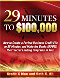 29 Minutes to $100,000: How To Create A Perfect Business Credit Profile in 29 minutes and Make the Banks EXPOSE Their Secret Lending Programs to YOU!