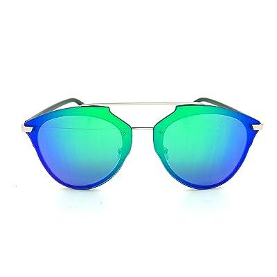 ASPEZO - Lunette de soleil - Femme bleu blue irridescent