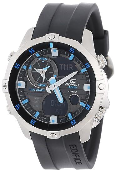 Casio Caballero EMA100-1A Edifice Multi-Function Marine Line Analogique Reloj