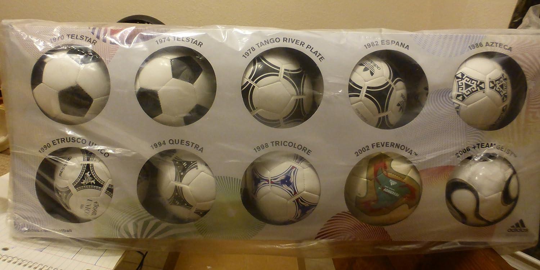 various colors b4fc2 65573 Adidas History of FIFA World Cup Mini Balls, Soccer Balls - Amazon Canada