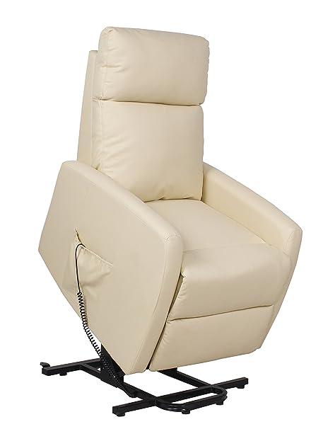 Poltrone Relax Motorizzate.Casagarden Poltrona Relax Recliner Alzapersona Elettrica Motorizzata Ecopelle Poltroncina