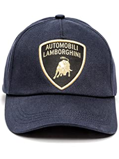 c4aa9bf48560a Automobili Lamborghini Accessories 1963 Cap Unique Size Blue at ...