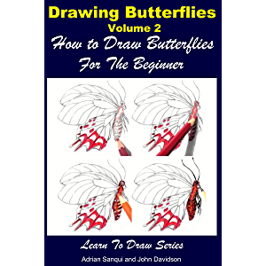 Drawing Butterflies Volume 2 - How to Draw Butterflies For the Beginner
