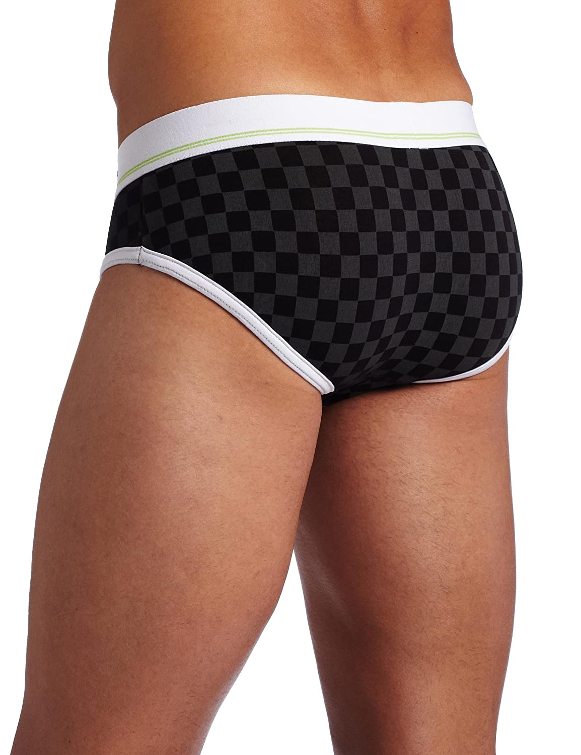 Piss & Vinegar Men's Limitless Yummy Low Rise Brief, Black/Green, Small:  Amazon.in: Clothing & Accessories