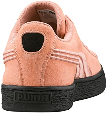 e79b07eb5a61fe Puma Suede Classic Badge Flip Em, Sneakers Basses Homme, Rose A Lt Rosa/