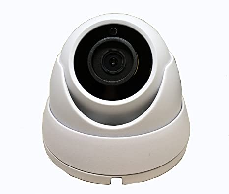 HD-TVI 1080P mini outdoor//indoor dome Camera 2.8mm wide angle lens 12VDC