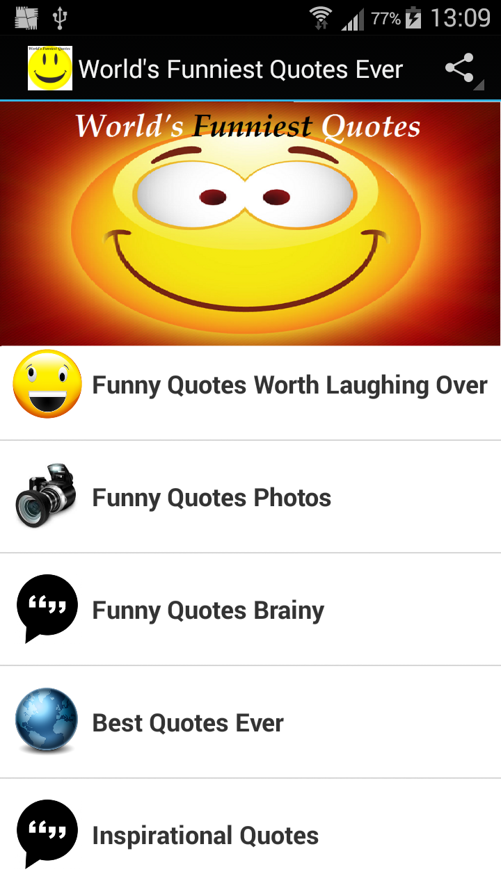 Amazon.com: World\'s Funniest Quotes Ever: Appstore for Android
