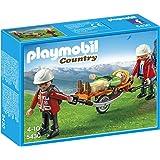 Playmobil - 5430 - Figurine - Secouristes Avec Brancard