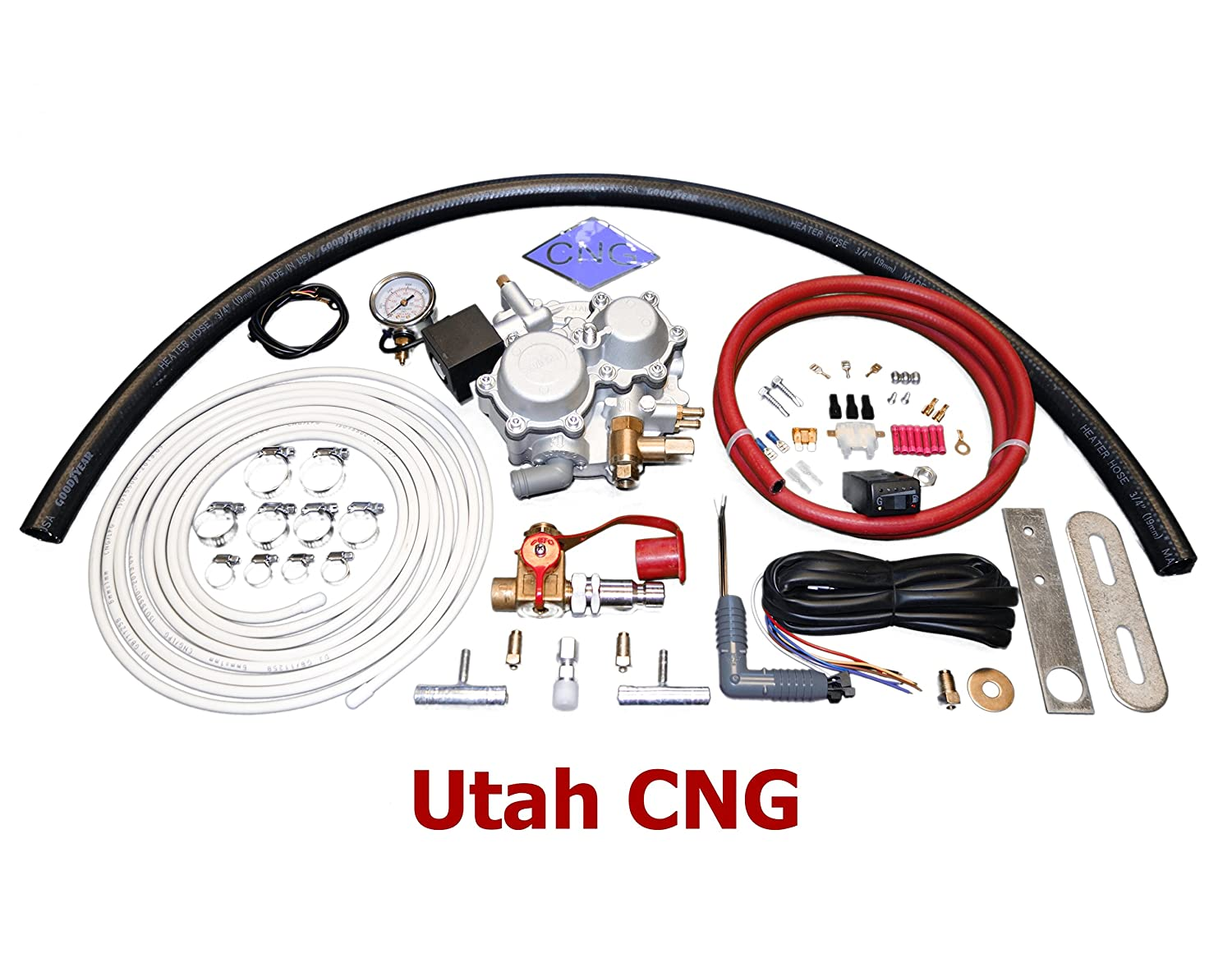 Amazon com: Utah CNG 4, 6 and 8 Cylinder Diesel Auto and