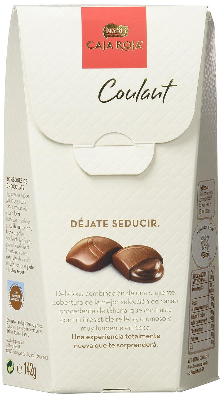 Nestlé Caja Roja Coulant - Bombones de Chocolate con Leche - 142 g: Amazon.es: Alimentación y bebidas