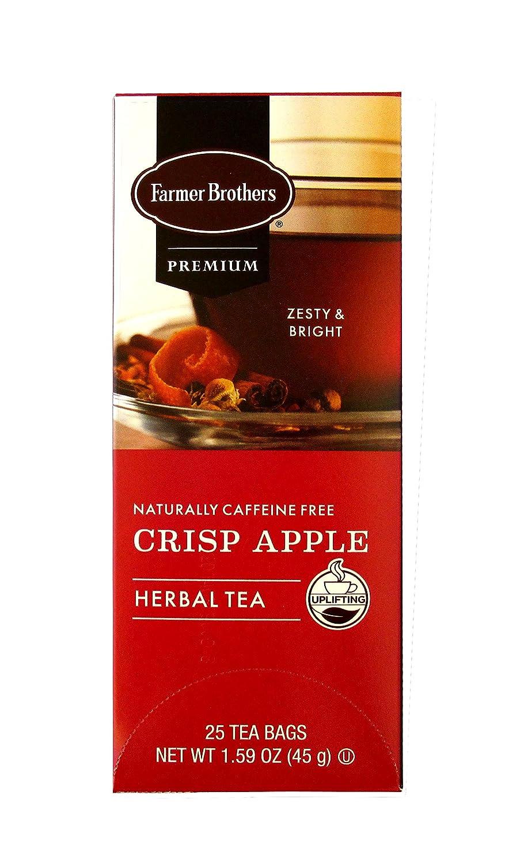 Farmer Brothers – Crisp Apple Herbal Tea – 25 Bags