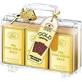 Heidel Großer Gold-Koffer 120g
