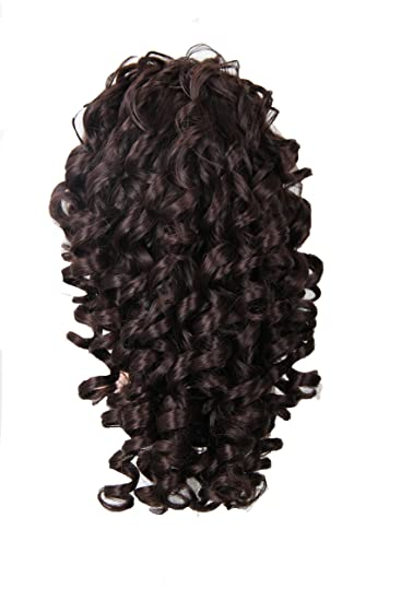 Amazon.com   Deep Curly Women Wigs Girls Ponytail Hairpiece Synthetic Hair  Extensions with Claws   Beauty edec977d3