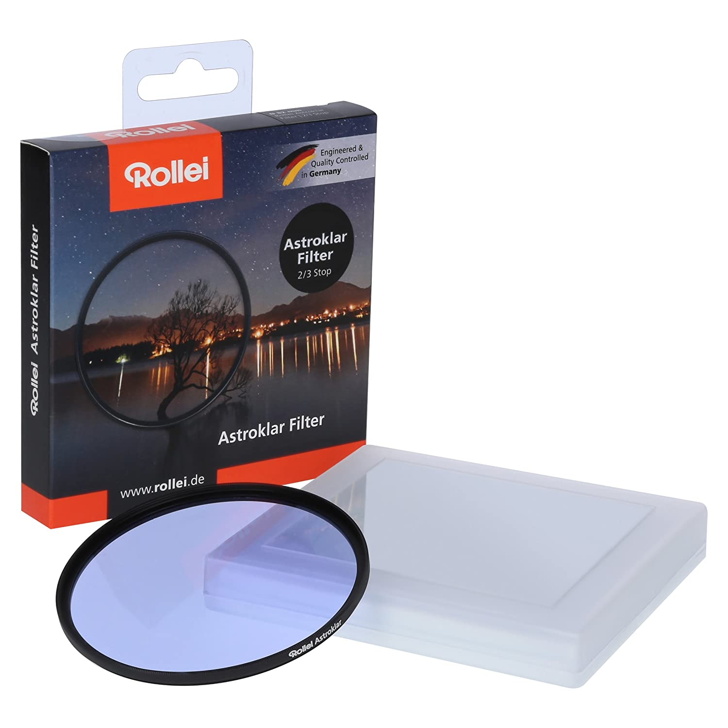 Rollei Astroklar Light Pollution Round Filter I 105mm Night Light Filter I Clear Night Filter for Astrophotography and Night Photography