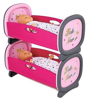 Smoby 220314 Baby Nurse Lits Jumeaux Lit Superposes 2