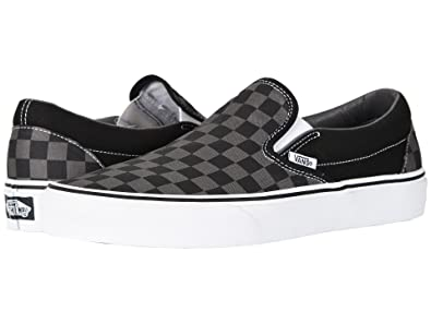 Vans Unisex Adults' Classic Slip On Trainers Black/Pewter