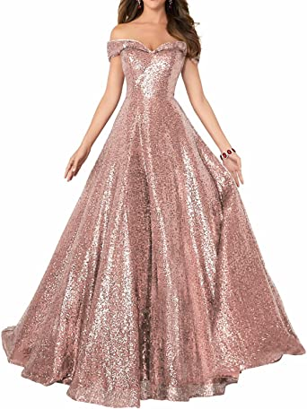 Sequin Hearts Sequin Halter A-line Gown Black//Pink Long Dress Plus Size New