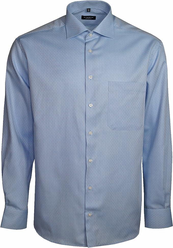eterna - Camisa formal - para hombre Azul azul XXXL/47: Amazon.es: Ropa y accesorios