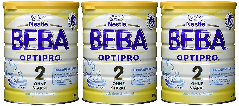 Beba Optipro 2 Folgemilch ohne Stärke nach dem 6 Monat 3er