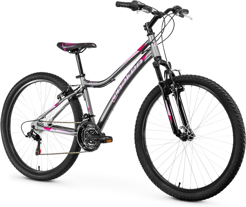 Anakon Enjoi Bicicleta de montaña, Mujer, Gris, S