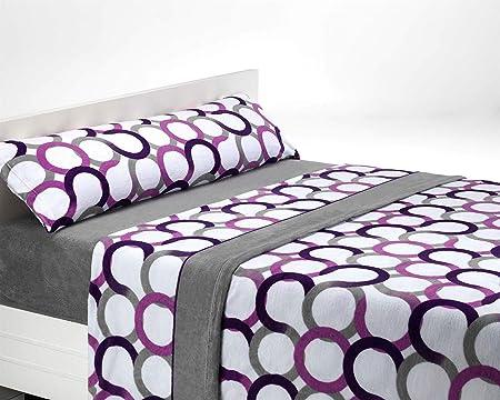 La más gruesa del mercado (240 Grs/m2). Calidad máxima para su cama en invierno.,Tejido de doble car