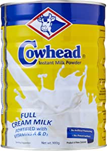 Cowhead Full Cream Instant Milk Powder, 900g