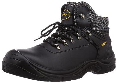 Gevavi 4W-14 4-Work S3 Hoog - Zapatos De Seguridad de Piel Unisex Adulto, Color Negro, Talla 40