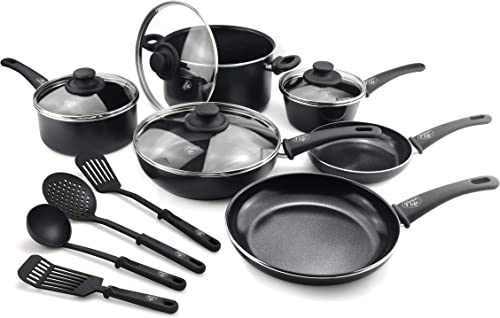 Soft Grip Pro 14-Piece Cookware Set