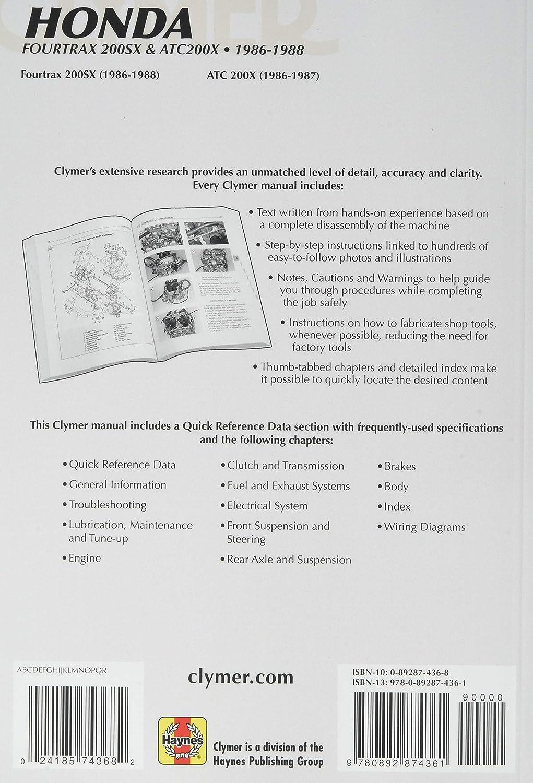 Clymer M347 Repair Manual